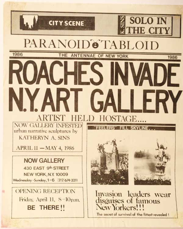 Roaches invade NYC Gallery